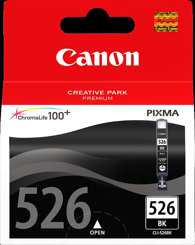 Cartouche d'encre Canon CLI-526bk