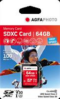 Agfa Photo SDXC 64 GB UHS-I U3 V30
