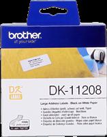 Etiquettes Brother DK-11208