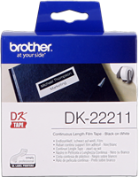 Etiquettes Brother DK-22211