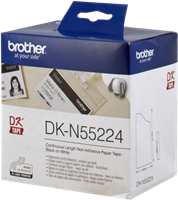Rouleaux d'étiquettes Brother DK-N55224