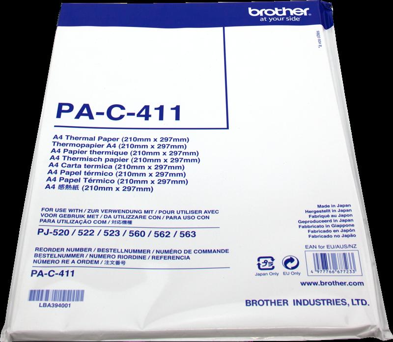 Papier thermique Brother PA-C-411