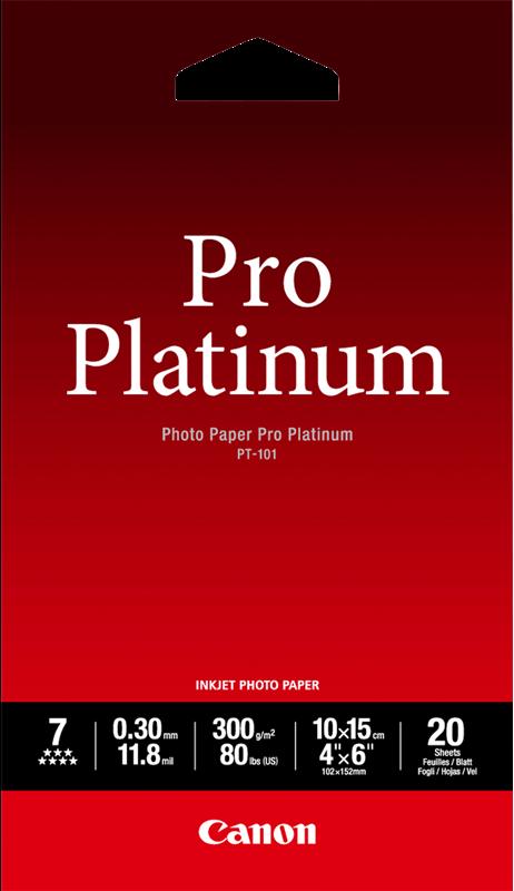 Photo - papier Canon PT-101 10x15