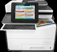 Appareil Multi-fonctions HP PageWide Enterprise Color Flow MFP 586z