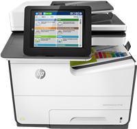 Appareil Multi-fonctions HP PageWide Enterprise Color MFP 586dn