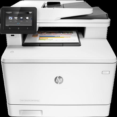 Appareil Multi-fonctions HP LaserJet Pro M477fdn