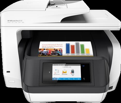 Appareil Multi-fonctions HP Officejet Pro 8720