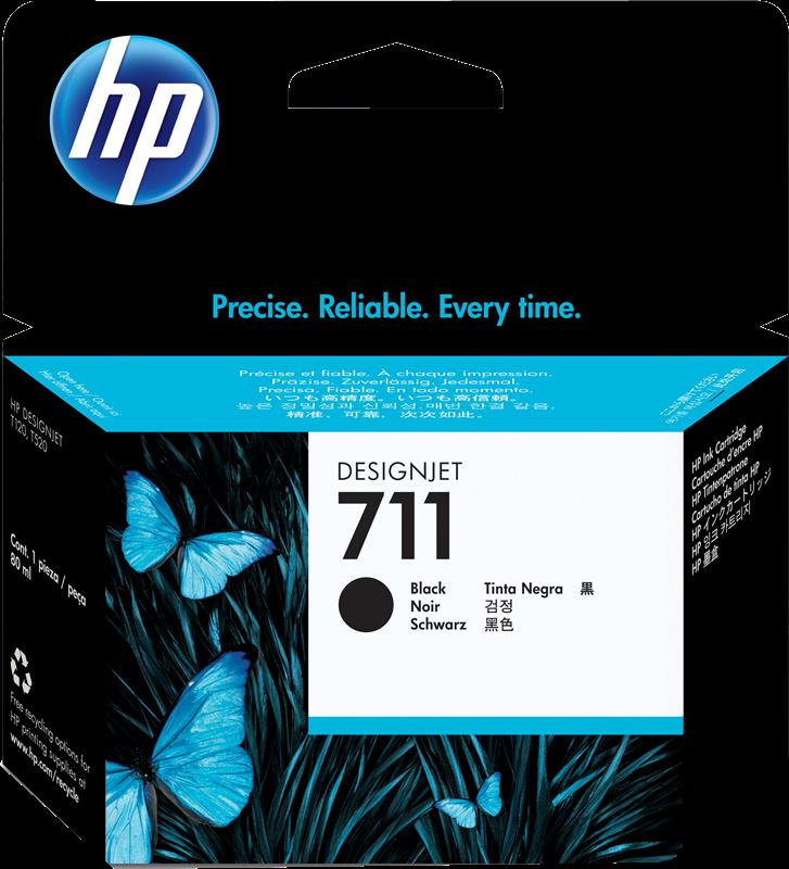 Cartouche d'encre HP 711