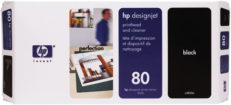Tête d'impression HP 80