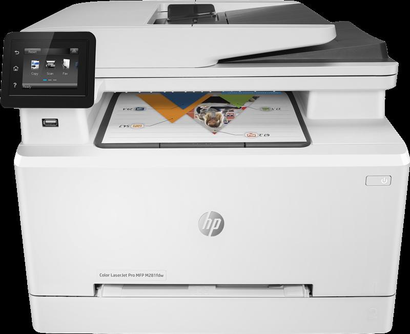Imprimante Multifonctions HP Color LaserJet Pro MFP M281fdw
