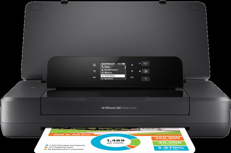 Imprimante à jet d'encre HP Officejet 200 Mobile