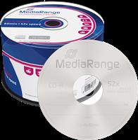MediaRange CD-R vierges 700MB|80min