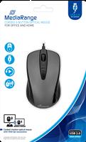 Corded 3-Button Optical Mouse MediaRange MROS201