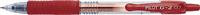 Pilot stylo à encre gel rouge
