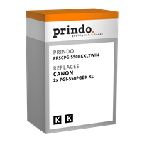 Multipack Prindo PRSCPGI550BKXLTwin
