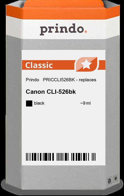 Cartouche d'encre Prindo PRICCLI526BK