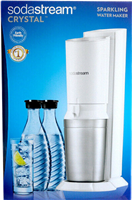 Sodastream Distributeur d'eau Soda Crystal 2.0