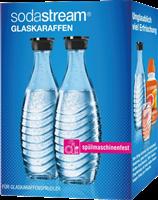 Sodastream Duo Pack / 2x carafes en verre 0,6 L Transparent