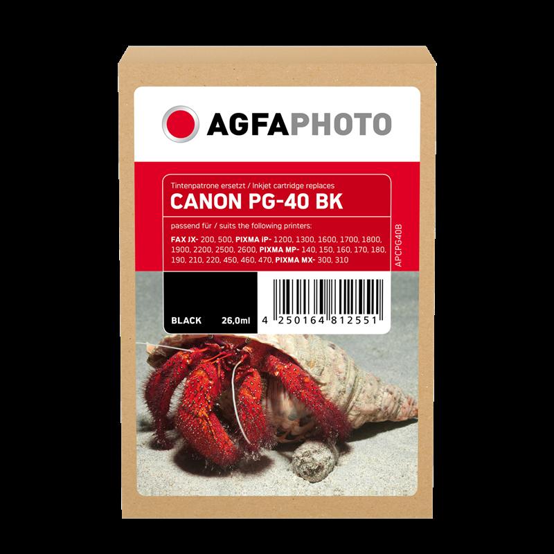 Cartouche d'encre Agfa Photo APCPG40B