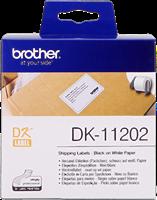 Etiquettes Brother DK-11202