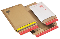 ColomPac enveloppes postales auto-adhésives marron