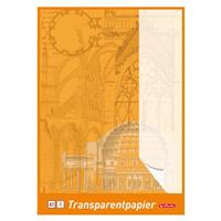 herlitz Bloc de papiers transparents