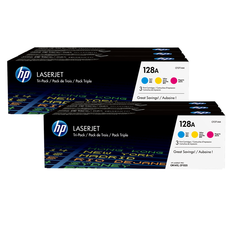 Multipack HP 128A Promo-Pack
